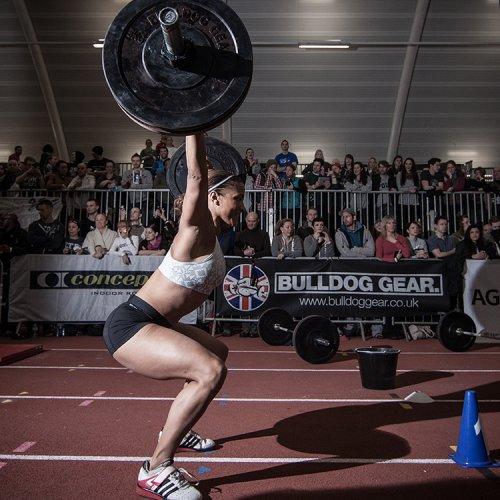 Battle of London • Overhead Squat Competition