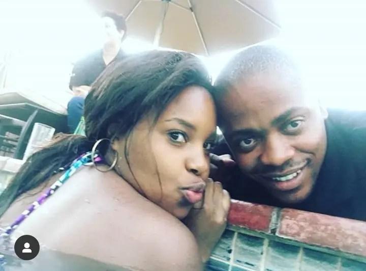 Who is Thabang Lefoa 's girlfriend?