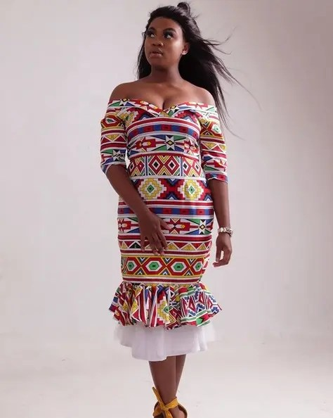 Mandisa Vilakazi Dressing