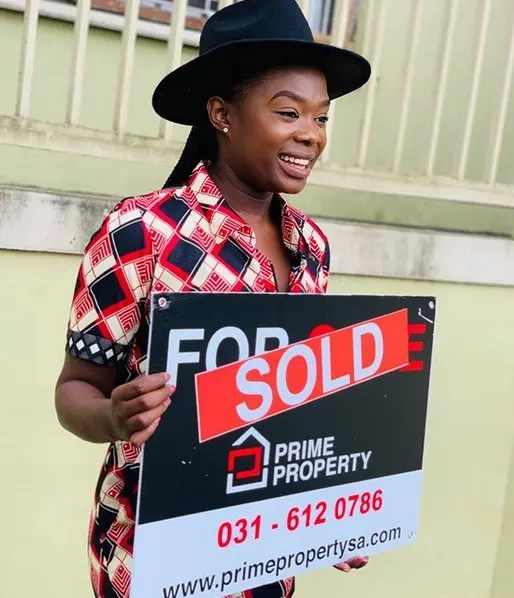 Noxolo Mathula who plays Lily on Uzalo buys herself an R1.8m house