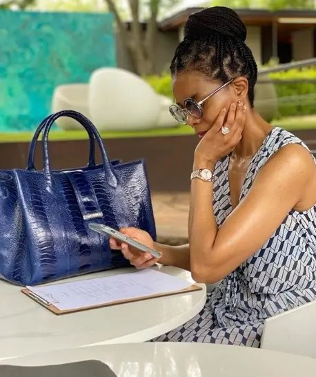 Salaries: Connie Ferguson 'Harriet Khoza' Salary At The River And The Queen Revealed