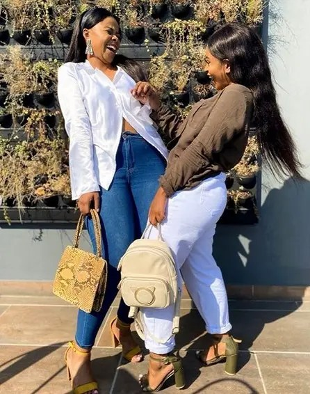 Nontle Majola and Melokuhle from Generations The Legacy