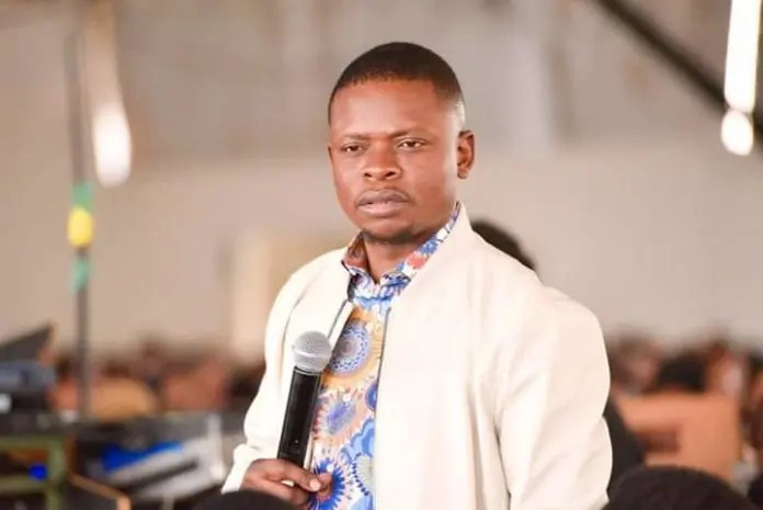 bushiri hands himself over to police