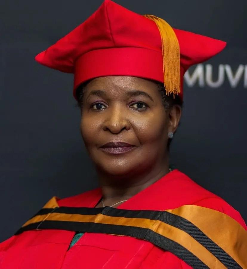 Muvhango Actress vho-Masindi Conferred With A PhD Degree