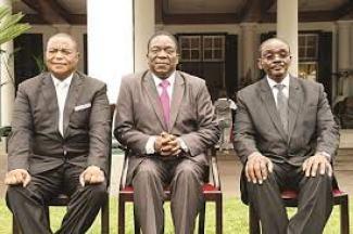 Panic as Covid-19 hit Zimbabwe presidium