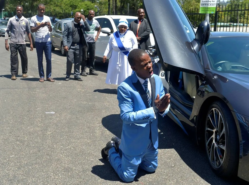 Prophet Mboro will lose church and followers to ABSA bank