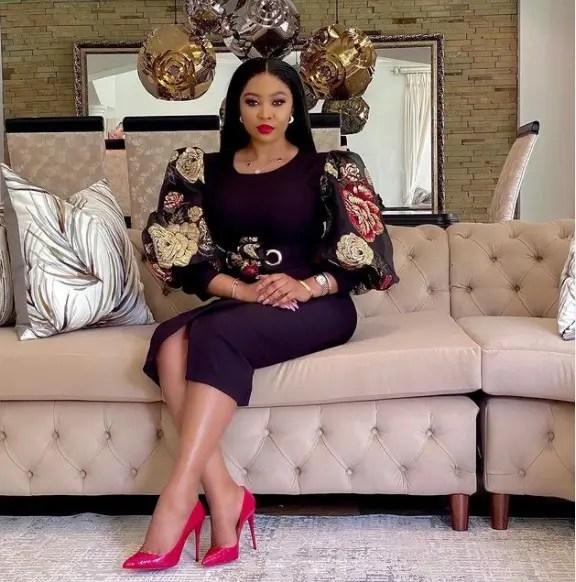 Pictures: Ayanda Ncwane finally shows off her secret Boyfriend?