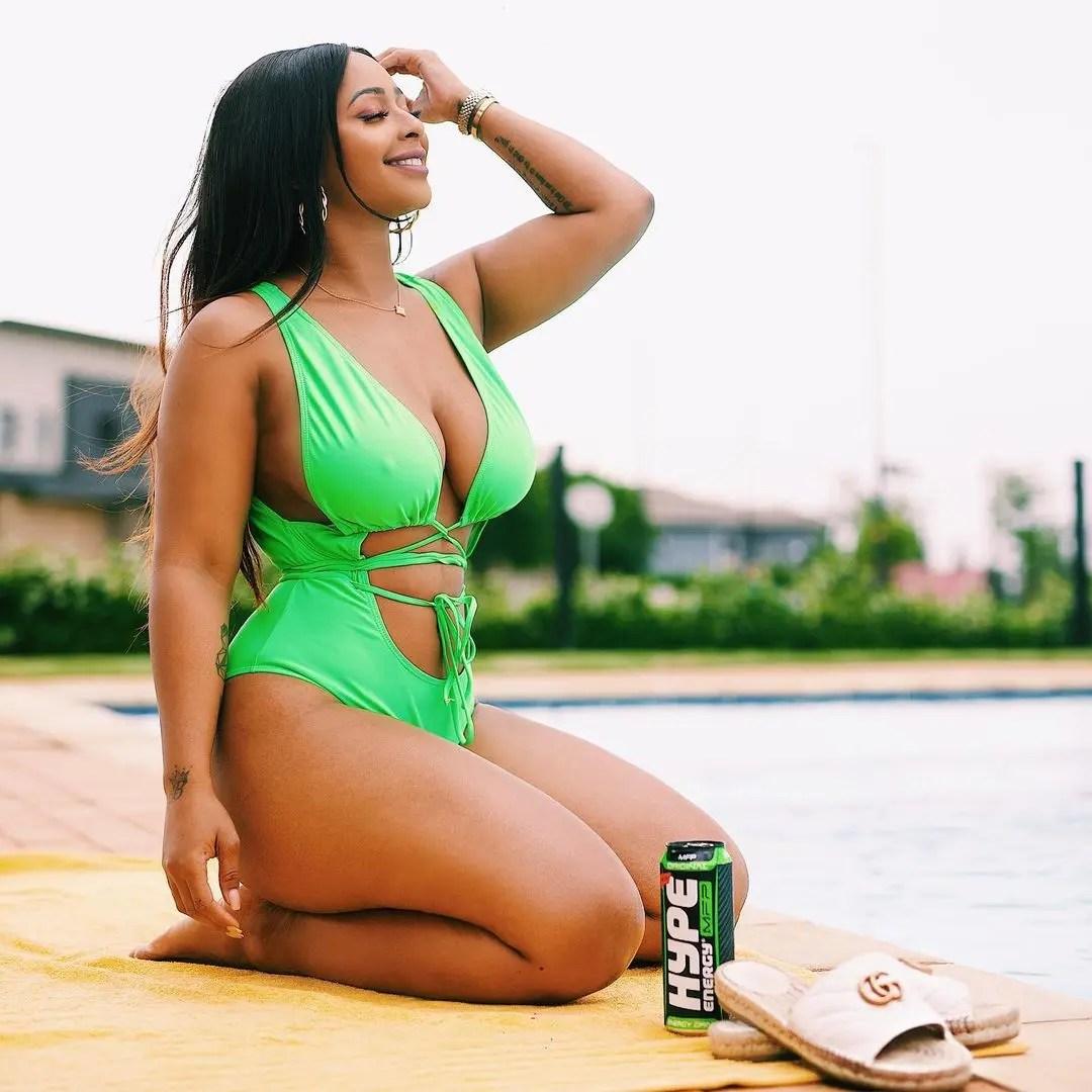 5 times Boity served sizzling bikini looks