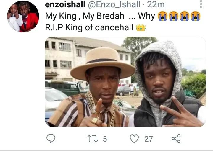 Zimdancehall sensation Soul Jah Love has died