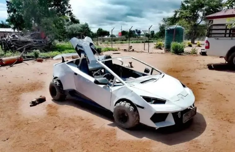 21-Year-Old Limpopo Man Blesses Himself With A Customized Lamborghini
