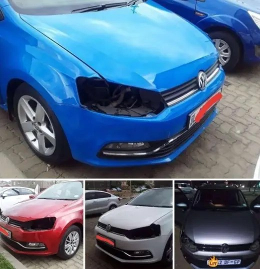 Video: VW Polo becomes an easy target for car stripping by robbers in car parks