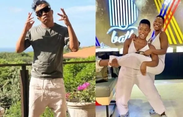 Video: Qwabe twins and Somizi serves lit dance moves