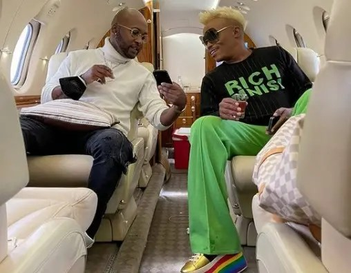Pictures: Somizi And Vusi Nova Living Large On Their Vacation