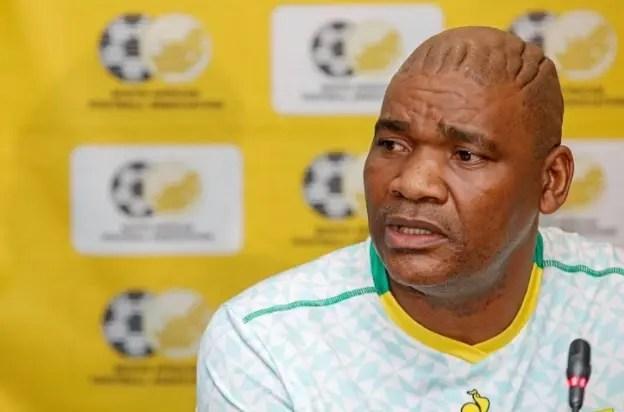 Bafana Bafana coach Molefi Ntseki fired