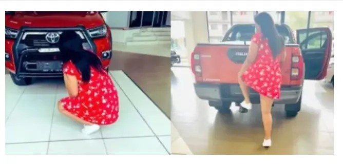 Slay Queen shows off a new car on social media, gets hijacked the same day