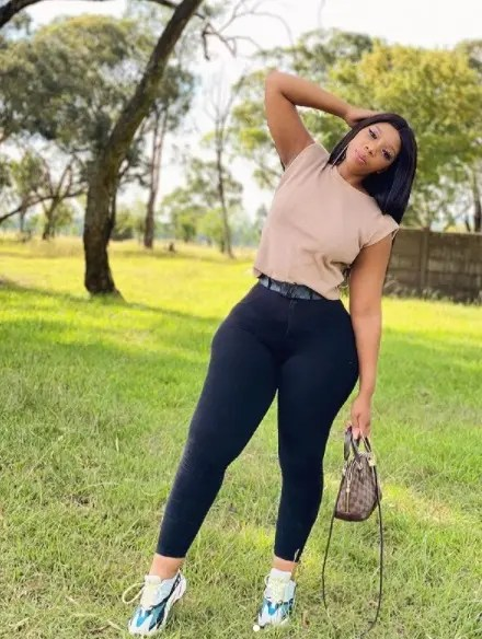 Pictures: South African s_exiest teacher Lulu Menziwa at it again