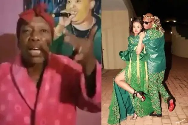 Video: Mampintsha's mom denounces Babes Wodumo, exposes her for faking a pregnancy