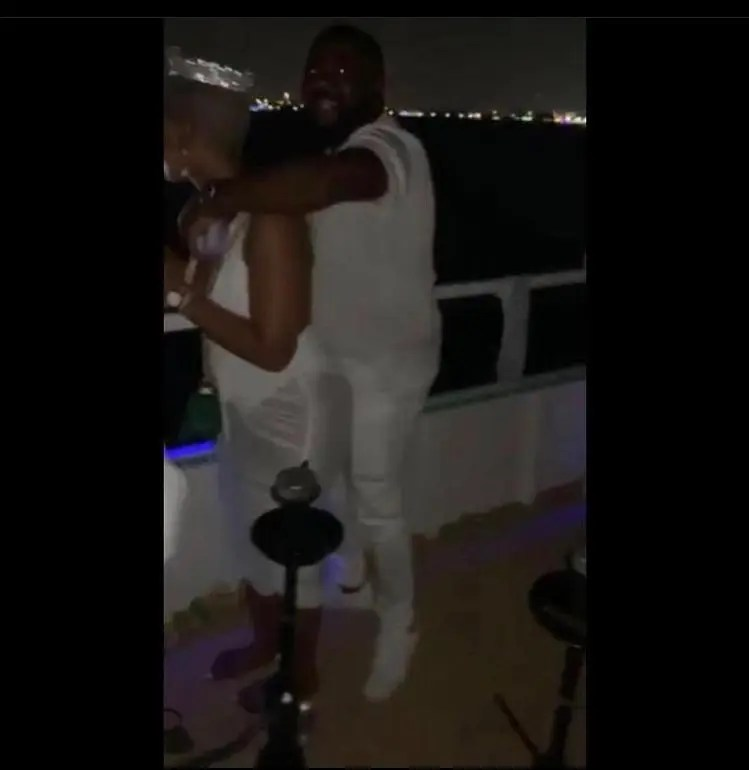 Mihlali spotted with Meeshka's man in Dubai