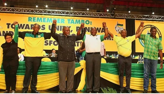 Defiant ANC Secretary-General Magashule suspends Cyril Ramaphosa from ANC