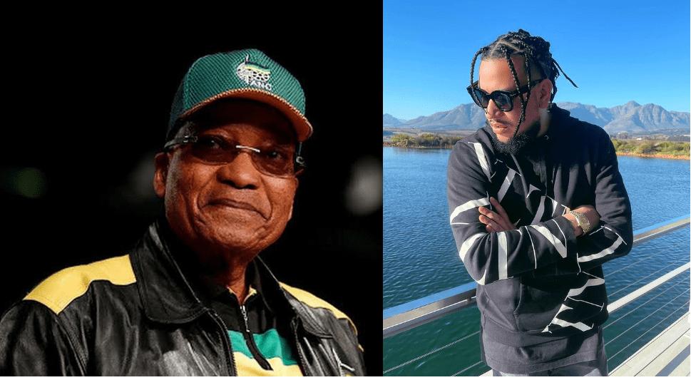 AKA backs convicted former President Jacob Zuma