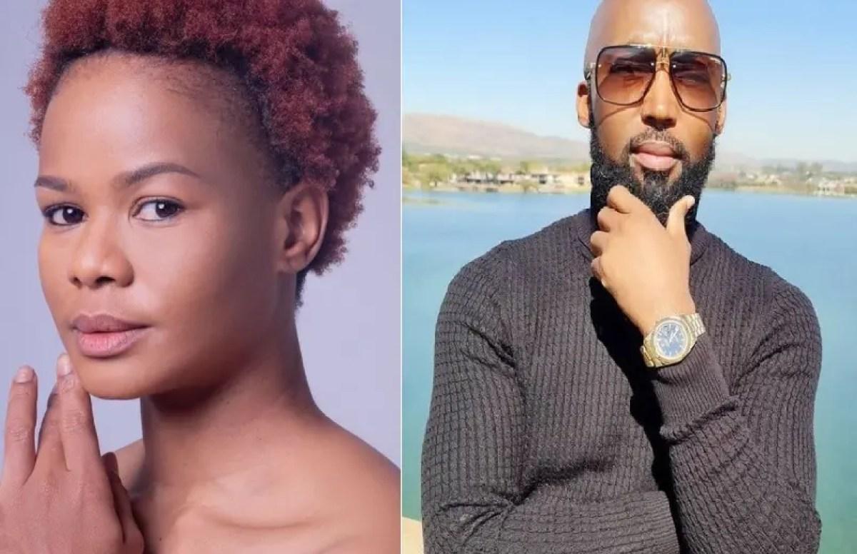 James' Dingaan Mokebe' and Meme' Tsholofelo Matshaba' from Muvhango