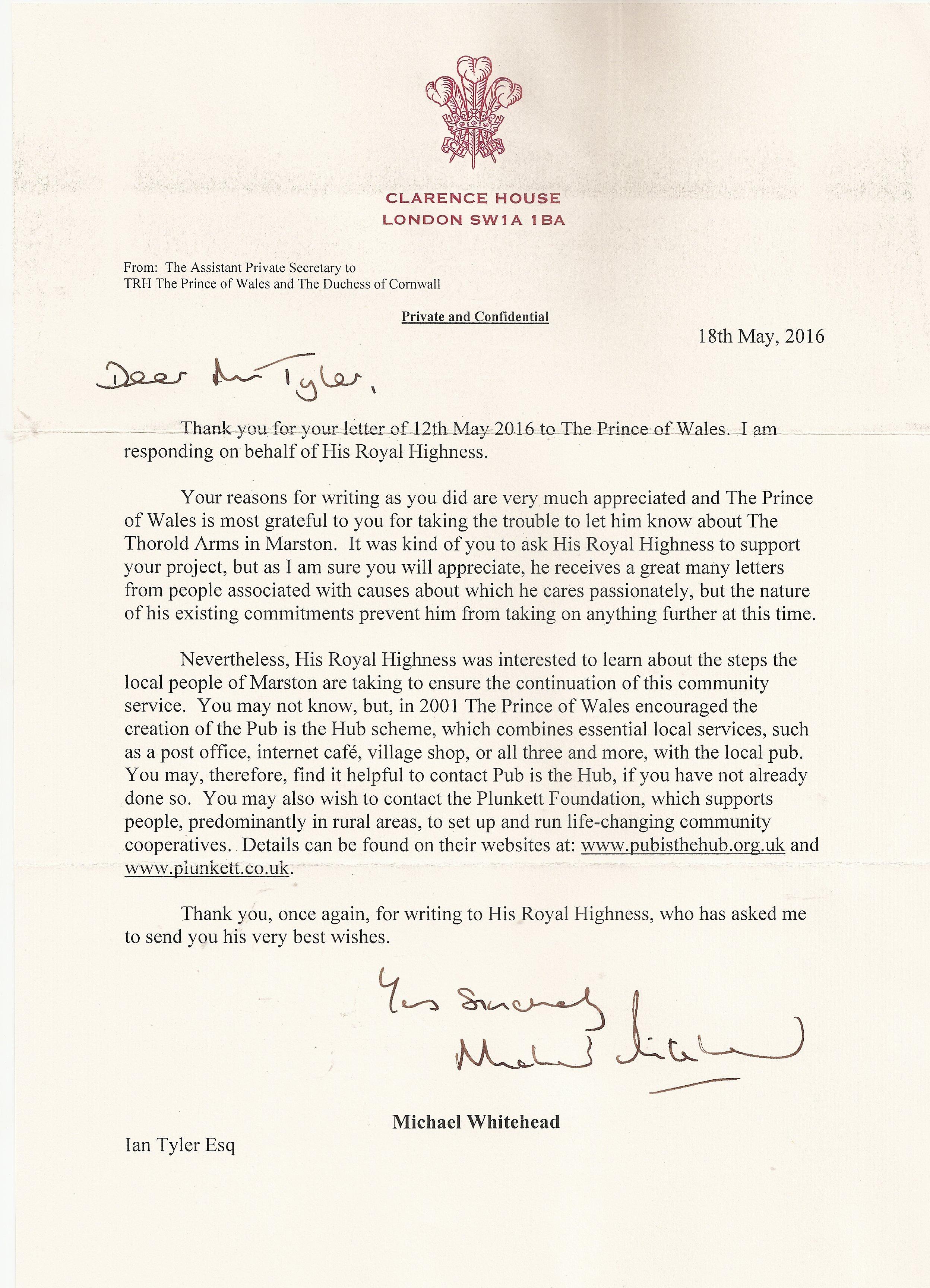 20160518 HRH Prince Charles