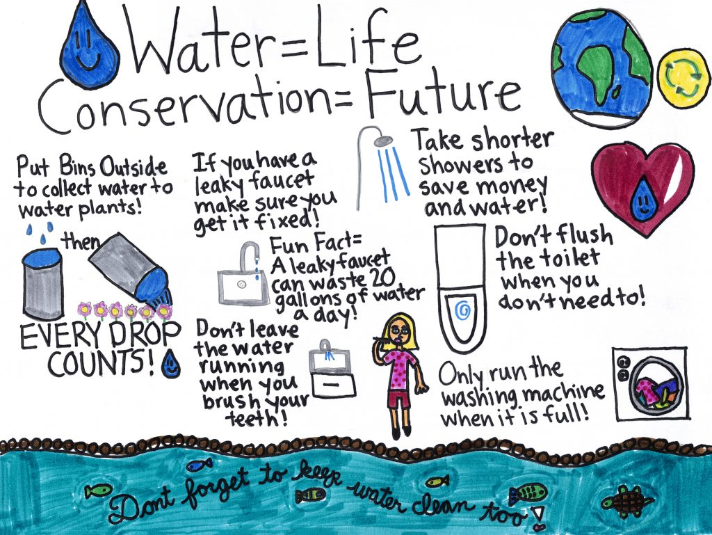 Water Conservation Worksheets
