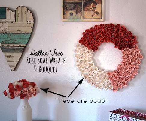 DIY Wreath Amp Bouquet From Dollar Store Soaps
