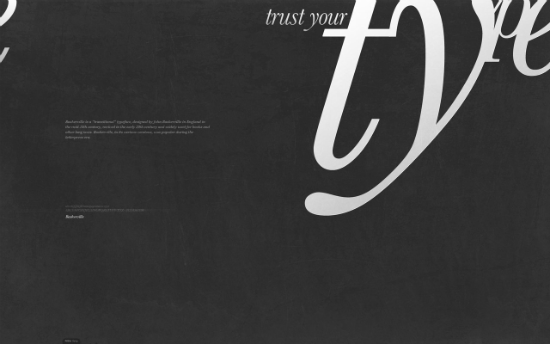 Typography Wallpaper Collection