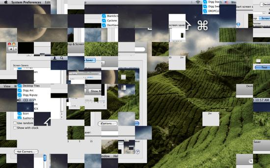 Desktop Tiles Screensaver 2011 সালের সর্বাধিক জনপ্রিয় স্ক্রীন Savers