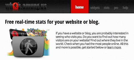 whos amung us web analytics tools