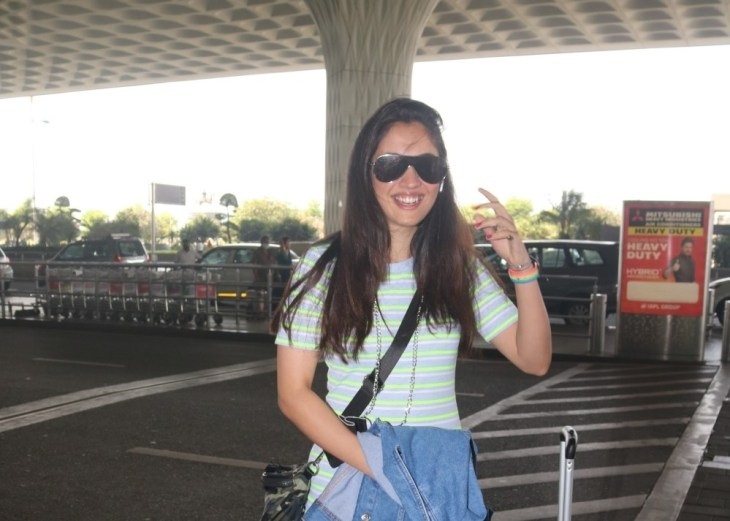 Ayushi Sharma Spotted at Airport Departure