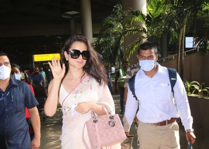 Kangana Ranaut spotted at airport arrival