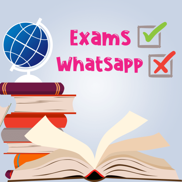 Exams Are Coming, Won't Use Whatsapp