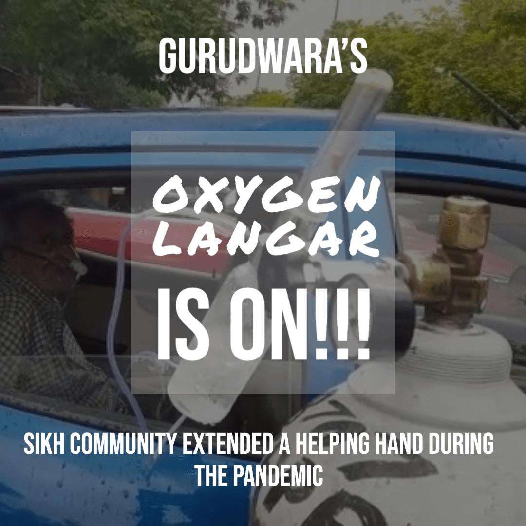 Oxygen Langar by Gurudwaras