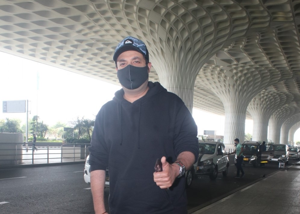 Varun Sharma Spotted at Airport Departure
