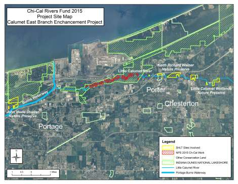 2015 Chi-Cal Project Area Map