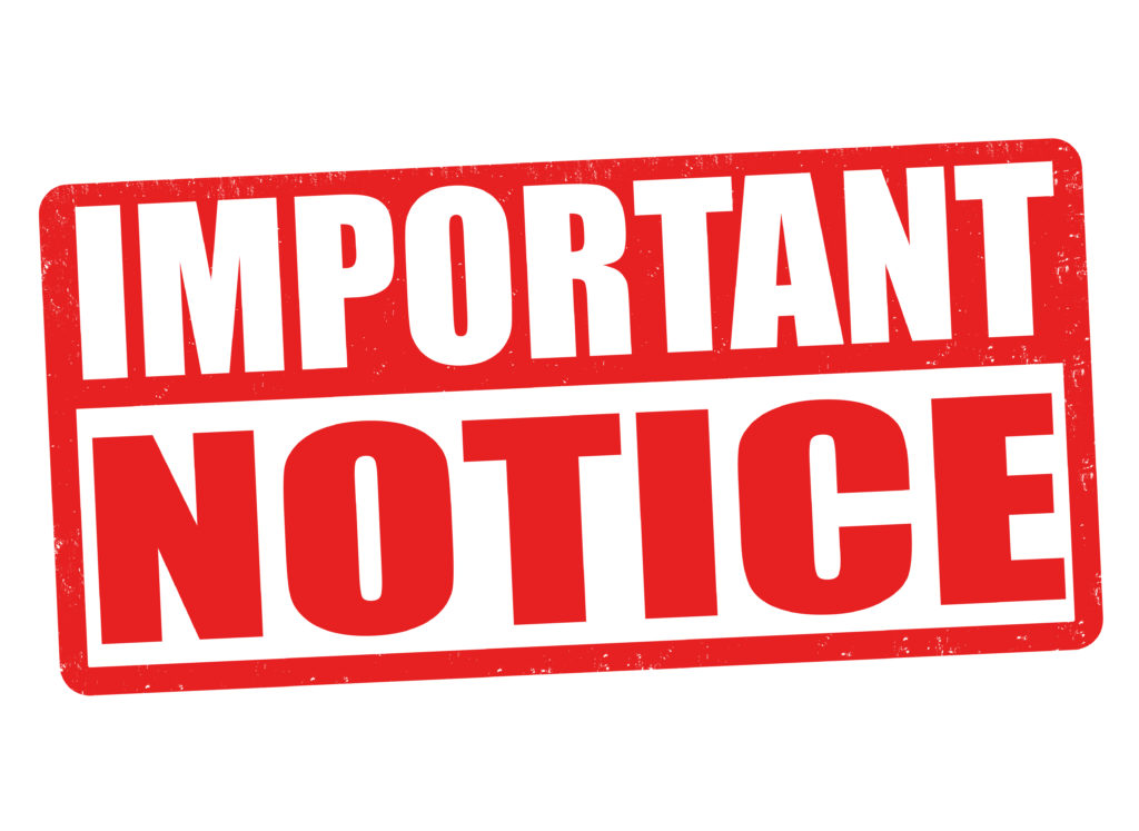 Notice from Douglas County Planning Services