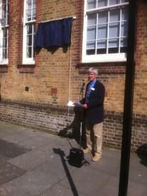 Brighton Society Chair, Malcolm Dawes