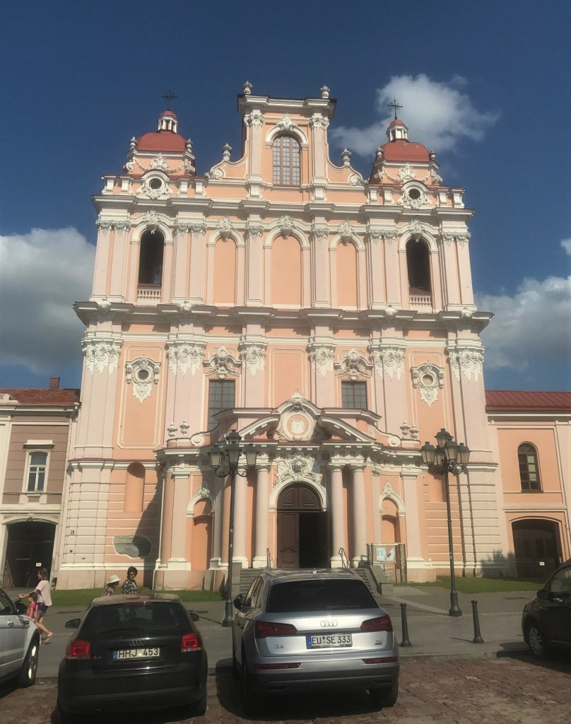St. Casimir Church in Vilnius' Old Town
