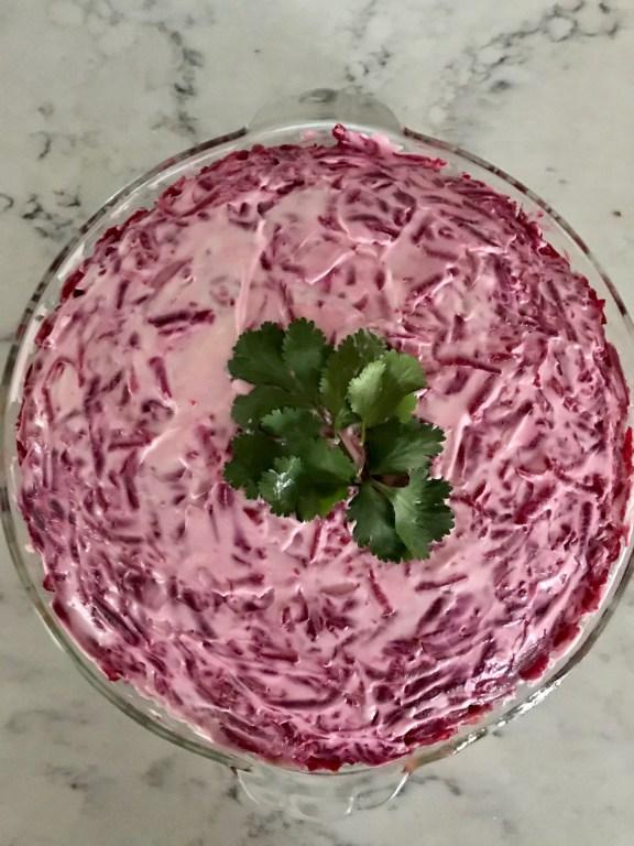 beets salad-healthy food-retirement