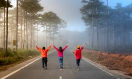 Women-walking on the road-baby boomer women and retirement