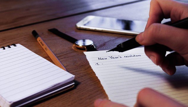 a piece of paper _new year resolutions for baby boomers