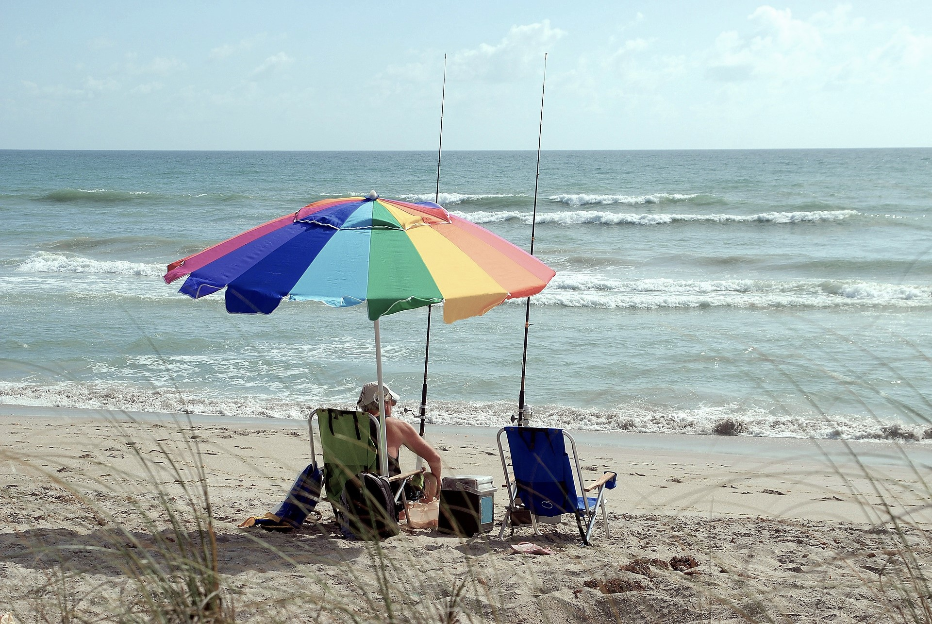 fisherman on a beach - smooth transition to retirement