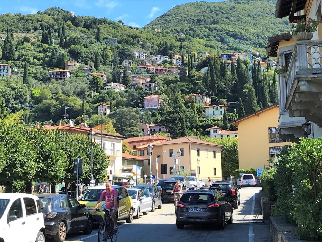 town of Menaggio on Lake Como in Italy