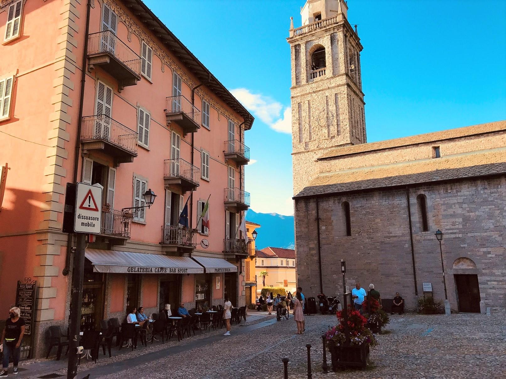 San Giacomo church in Bellagio