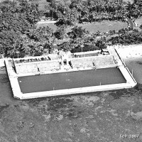 Closeup of the Natatorium in 1967. Photo by permission of John Titchen.