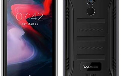 【2019】DOOGEE S40 (3GB + 32GB) robusta 4G Android 9,0 Rugged Smartphone in…
