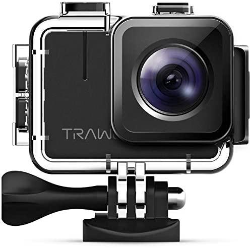 APEMAN TRAWO Action Cam A100, Nativo 4K/50FPS 20MP WiFi Impermeabile 40M...