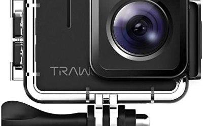 APEMAN TRAWO Action Cam A100, Nativo 4K/50FPS 20MP WiFi Impermeabile 40M…